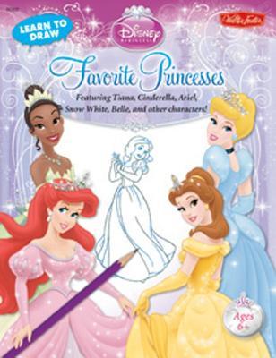 Learn to Draw Disney Princess Favorite Princesses